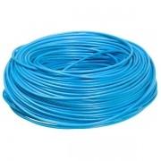 Cabinho Flexível 6,00mm 100 Metros Azul Sil