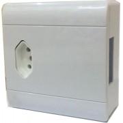 Caixa Compacta com Tomada 20a + Disjuntor Perlex