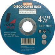 Disco de Corte Aço Inox 4 1/2 x 1.0 x 7/8 Plus