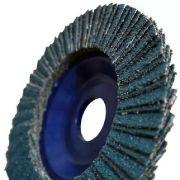 Disco Flap Lixa 4 1/2 g. 100 1 Peça
