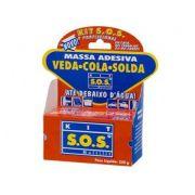 Kit Cola Sos 250g Cola até Embaixo D'Água 4 Caixas