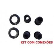 Kit Conexões Para Eletroduto  1/2, 3,4 e 1