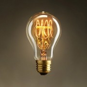 Lâmpada Retro Decoração A19 Antique 40w 110v