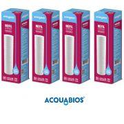 Refil Para Caixa D'Agua Ranhurado 9 3/4 Kit 4 Peças