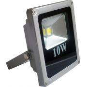 Refletor Holofote Led 10w Branco Frio Bivolt
