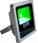 Refletor Holofote Led 10w Verde Bivolt Prova D'Água
