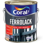 Tinta Esmalte Ferrolack 3,6l Branco
