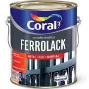Tinta Esmalte Ferrolack 3,6l Preto