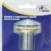 Válvula para Lavatório em Metal Sem Ladrão