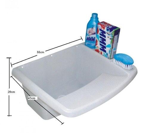 Tanque Para Lavar Roupa 23 / 15 Litros Em Pvc