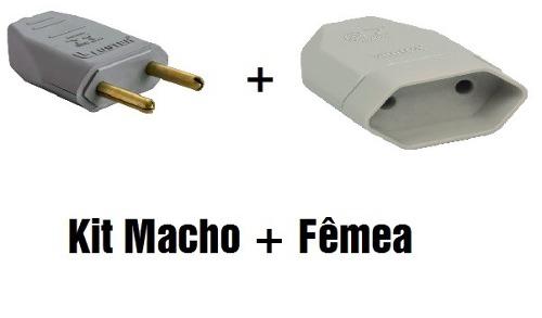 Kit Pino Macho Reto 10a + Pino Fêmea 2p 10a