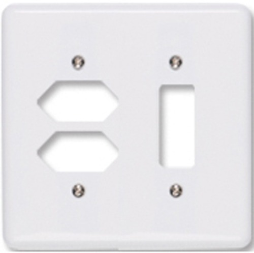 Placa 2 Tomadas + 1 Interruptor 4 X 4 Stylus Ilumi