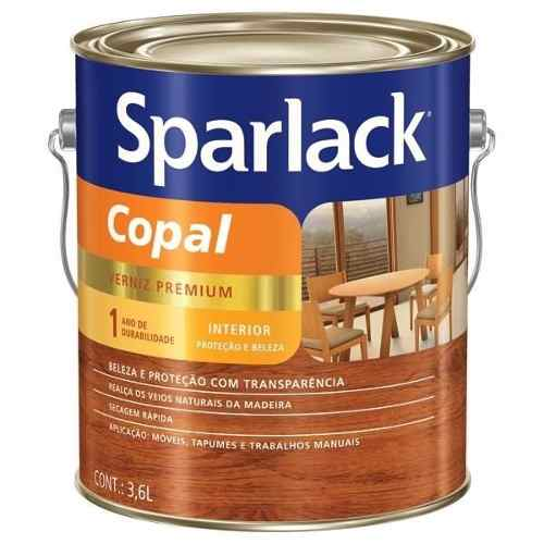 Verniz Copal Sparlack Incolor 1/4 900ml
