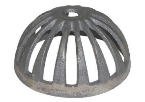 Ralo Grelha Tipo Abacaxi Ferro 100mm 4 Peças