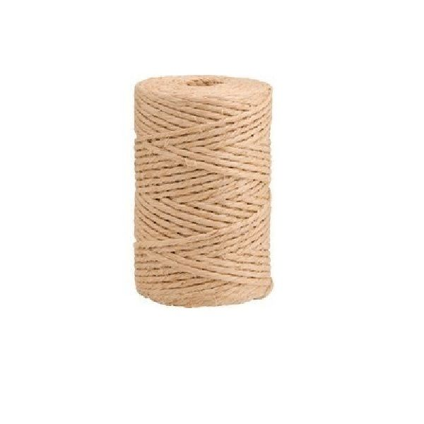 Corda De Sisal Natural 2mm Com 60 Metros