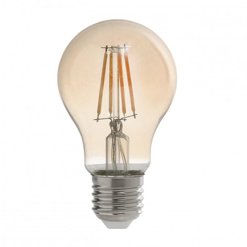 Lampada Antique Led Filamento 4w Biv 2.2k E-27 A60