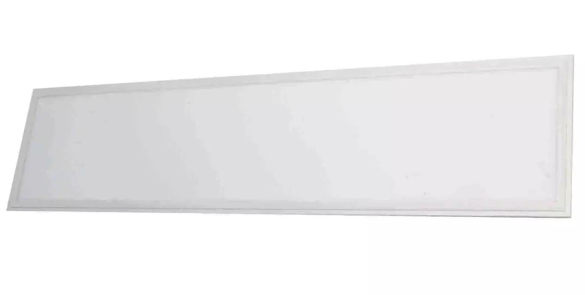 Luminaria Plafon Painel Led Embutir 48w 120cm X 30cm Branco Frio