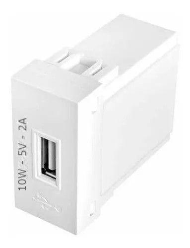 Módulo USB Novo Modelo 10w 2A Evidence / Modulare