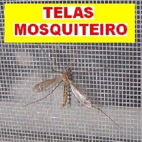 Tela Nylon Mosquiteiro com 1,00m de Largura Contra Dengue Pernilongo