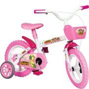Bicicleta Infantil Aro 12 Rosa Turminha do Guará - Semaan