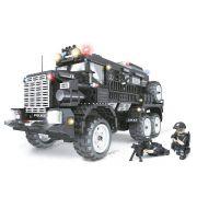 Blocos de Encaixe Operações Especiais Caminhão Apoio (2.393 Peças) - Xalingo