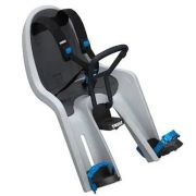 Cadeira de Bibicleta Mini RideAlong Light Gray Dianteira - Thule