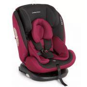 Cadeira para auto Gaia 360º - Isofix de 0 A 36 Kg - Preto / Vinho - Galzerano