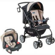 Carrinho de Bebê AT6 K Bege com Cadeira Touring SE - Burigotto