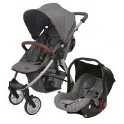 Carrinho De Bebê Avito com Bebê Conforto Race - Abc Design
