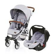 Carrinho De Bebê Avito Graphite Gray com Bebê Conforto Risus - Abc Design