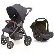 Carrinho De Bebê Avito Style Street + Bebê Conforto Risus - Abc Design
