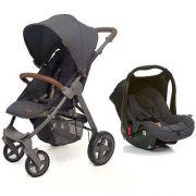 Carrinho De Bebê Avito Style Street com Bebê Conforto Risus - Abc Design