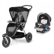 Carrinho de Bebe Chicco Activ3 Air Q Collection + Cadeira Keyfit - Chicco