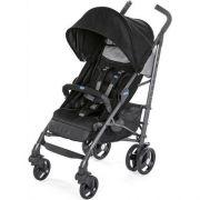 Carrinho De Bebê Lite Way 3 Basic Jet Black (Preto) - Chicco