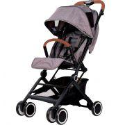 Carrinho de Bebê Poppin Pocket (Leve e Compacto) Woven Grey - ABC Design