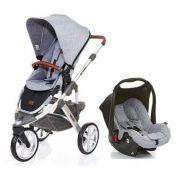 Carrinho de Bebê Salsa 3 Rodas Graphite Gray + Bebê Conforto - ABC Design