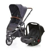 Carrinho de Bebê Salsa 3 Rodas Style Street com Bebê Conforto - ABC Design