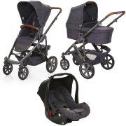 Carrinho de Bebê Salsa 4 Rodas + Moisés + Bebê Conforto Style Street - ABC Design
