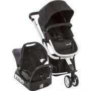 Carrinho de Bebê Travel System Mobi Safety 1st Black e White