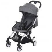 Carrinho de Bebê Up Gray (Cinza - Leve e Compacto) - Burigotto