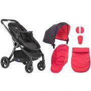 Carrinho de Bebê Urban Plus + Color Pack Red - Chicco