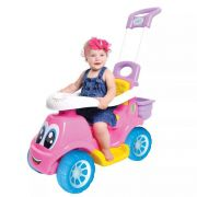 Carrinho De Passeio 3 Em 1 Little Truck Menina (Rosa) - Maral