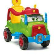 Carrinho De Passeio Mk Truck Com Buzina Verde - Calesita