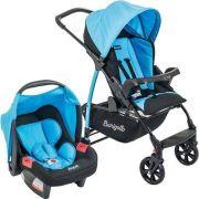 Carrinho Ecco Iris com Bebê Conforto Touring Evolution SE - Burigotto