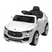 Carrinho Elétrico Maserati II 6 Volts Branco - Xalingo