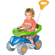 Carrinho Infantil Super Comfort Azul / Verde - Calesita