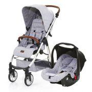 Carrinho Mint com Bebê Conforto Risus Graphite Grey - Abc Design