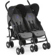 Carro de Bebê Passeio Gêmeo Echo Twin 2 Posições até 15kg - Chicco