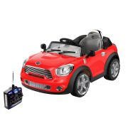 Carro Elétrico Infantil Mini Cooper Conversível Vermelho 6V - BelFix