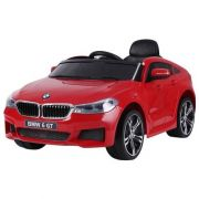Carro elétrico para crianças BMW 6 GT Vermelho 12v - Belfix